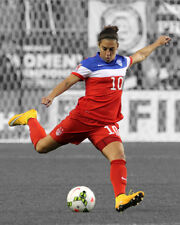 USA Soccer CARLI LLOYD Glossy 8x10 Photo Spotlight Poster FIFA Print 2015 Champs