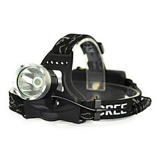Rechargeable 2500LM XM-L T6 LED 2X18650 Headlamp Headlight Head Torch Flashlight