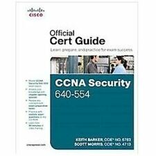 Official Cert Guide CCNA Security 640-554 Official Cert Guide (2012, Hardcover)