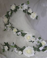 Garlands Wedding Church Venue Luxury Decoration Top Table Quality  Thick Full