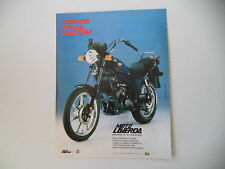 advertising Pubblicità 1985 MOTO LAVERDA 125 LB CUSTOM