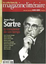 LES COLLECTIONS DU MAGAZINE LITTERAIRE H.S. N° 7 / JEAN-PAUL SARTRE CONSCIENCE