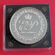 BRITISH INDIAN OCEAN 2011 ELIZABETH & PHILIP LIFETIME OF SERVICE £2 SILVER PROOF