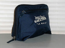 JEAN PAUL GAULTIER LE MALE Reversible Pouch, Toiletry Bag, Travel, Gym, NEW