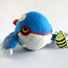 "Pokemon Center Kyogre Plush 6.5"" Stuffed Animal Pocket Monster Alpha Sapphire"