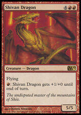 MTG SHIVAN DRAGON FOIL EXC - DRAGO DI SHIVAN - M10 - MAGIC