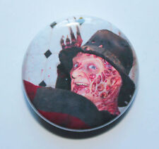 "1"" (25mm) Freddie Kruger - Nightmare on Elm Street Button Badge"