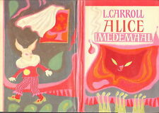 ALICE IN WONDERLAND BY LEWIS CARROLL ESTONIAN ILLUSTRATED BOOK 1ST EDITION 1971