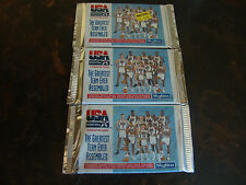 1992 Skybox USA Basketball---Packs---Lot Of 3---8 Cards/Pack---Factory Sealed