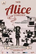 Affiche 40x60cm ALICE COMEDIES (1932) Walt Disney, Virginia Davis R2016 TBE