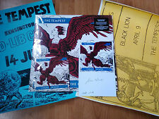 TEMPEST-5 AGAINST THE HOUSE LP/CD(OPTIC NERVE)LIMITED/2 POSTERS/SIGNED