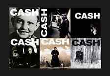 JOHNNY CASH 6x LP AMERICAN RECORDINGS I II III IV V VI *RARE* 180g VINYL Lot NEW