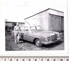 1960's Mercedes 250S Registration OPF230E Original Photograph