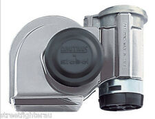 Stebel Nautilus Compact TwinTone 12VCar/Motorcycle Air Horn Chrome PART:GPNT-12C