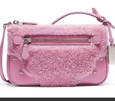Coach Small Ryder Pochett In Marshmallow Pink NWT Awesome!