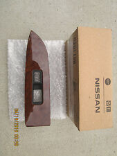 09-12 NISSAN MURANO LE SV SL S PASSENGER SIDE POWER WINDOW SWITCH BEZEL TRIM NEW
