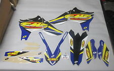 YAMAHA YZF450 2010-2013 One Industries FMF Racing kit grafica 1G55