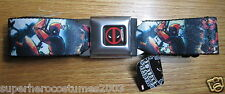 Deadpool Wade Winston Wilson Buckle-Down Belt Marvel Comics ADJUSTABLE! EXTREAM