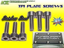 TPI Throttle Body Plate Stainless Screw Kit L98 LT1 LT4