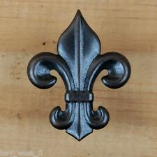 SMALL Fleur de Lis Tack ~ Decorative Upholstery Craft Nail { Old Bronze } by PLD