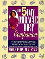 Adele Puhn - Five Day Miracle Diet Companio (1996) - Used - Trade Cloth (Ha