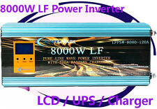 32000W/8000W LF Pure Sine Wave Power Inverter 12VDC/110VAC 60Hz LCD/UPS/Charger