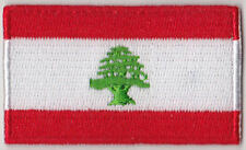 Lebanon Country Flag Embroidered Patch T4