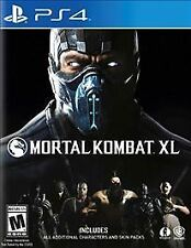 Mortal Kombat XL PS4 Sony PlayStation 4