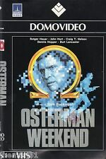 Osterman Weekend (1983) VHS DomoVideo 1a Ed. - Rutger HAUER