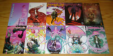 DrumHellar #1-10 VF/NM complete series - psychedelic detective - riley rossmo B