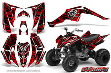 YAMAHA RAPTOR 350 GRAPHICS KIT CREATORX DECALS STICKERS SAMURAI RB