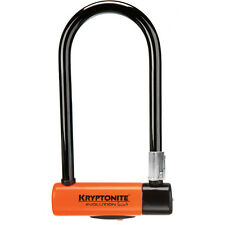 Kryptonite Evolution Series 4 Bike U-lock with FlexFrame Bracket Bicycle D Lock