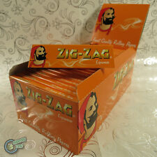 ZIGZAG ZIG ZAG Brown Cigarette Tobacco Rolling Paper Papers Roller Roll RYO
