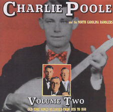 FREE US SHIP. on ANY 2 CDs! NEW CD Charlie Poole: Old Time Songs Recorded From 1