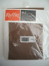 "Stockings - to wear with suspenders, size L (shoe size 6-8), colour ""hazelnut"""