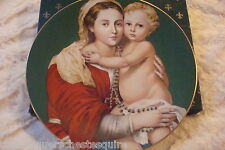 """Haviland Limoges, France, 1975 """"Madonna and Child"""" by Murillo, Limited Ed [5]"""