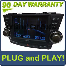 Toyota HIGHLANDER OEM JBL Touch Screen Navigation Radio Sat Aux CD Player E7014