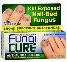 fungal treatment MAXIMUM STRENGTH FINGER TOE Fungi Cure nail bed fungas 30ml