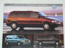 Plymouth Voyager - US-Prospekt Brochure 1995