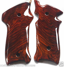 RUGER MKIII FULL-CUT GRIPS COCOBOLO NEGRO ROOT WOOD R-10 extra nice L@@K!!!