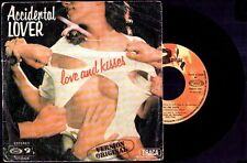 "LOVE AND KISSES - Accidental Lover (Parte I y II) - SPAIN 7"" Movieplay 1977"