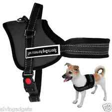 Sports Dog Harness Vest Handle Soft Padded Adjustable Pet Vest(S)