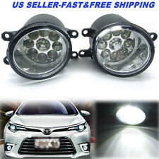 36W Pair of LED Fog Light Left Right RH LH Side Fit For Toyota Camry Yaris Lexus