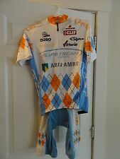 Hincapie Garmin Chipotle Slipstream Jersey and Shorts Men's Medium Bike Cycling