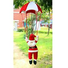 Santa Claus Coming with Parachute - Vintage Christmas Ornament Decor Gifts