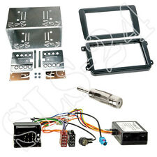 Skoda Fabia Yeti Superb Doppel 2-DIN Radio Blende Radioblende+CAN-BUS Interface
