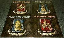 "MACHINE HEAD-KILLERS & KINGS -2014 RSD 4x10"" EP RED/BLUE VINYL-LTD-NEW"