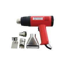 2 x 1500W HOT AIR GUN + 4 NOZZLE PAINT STRIPPER STRIPPING HEAT SHRINK POWER TOOL