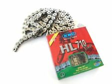 "KMC HL710 Silver Single-Speed Half Link Bike Chain 1/2"" x 1/8"" BMX Track / Fixie"