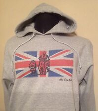 SLED DOG SPIRIT UNION JACK HOODY RIG TEAM SIBERIAN HUSKY HUSKIES MALAMUTE MUSHER